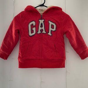 🎈Gap sherpa lined hoodie size 5 🎈